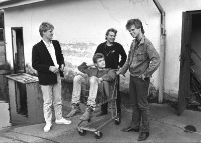 Attentat, 1981. Foto: Rykkman Rekkords.
